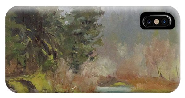 Winter At Swiftwater IPhone Case