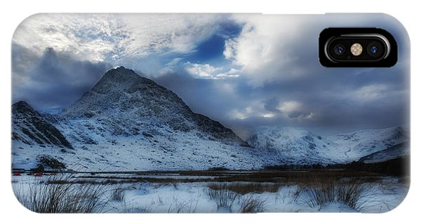 Winter At Tryfan IPhone Case