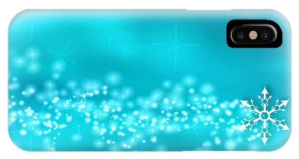 Winter Background IPhone Case