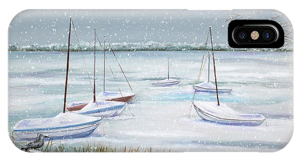 Winter Blue Phone Case by Dorothy Riley
