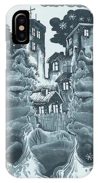 Winter City IPhone Case