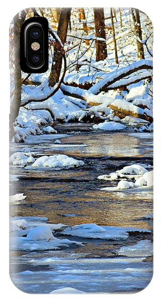 Winter Creek IPhone Case
