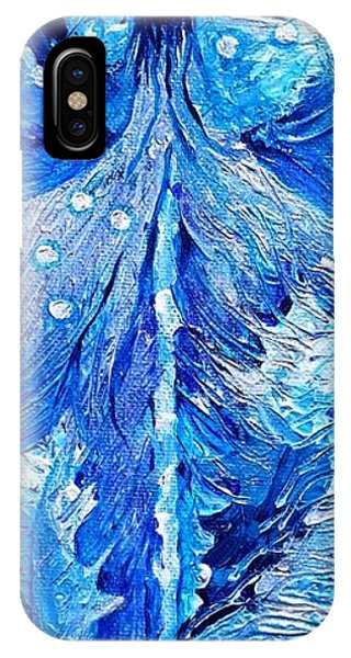 Winter Dandelion As Silent Ceremonial Rattle Of The Spirit IPhone Case