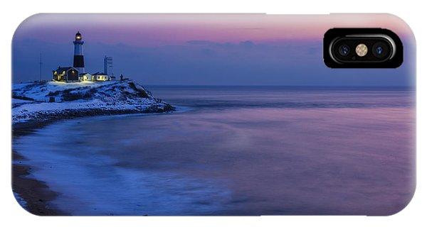 Navigation iPhone Case - Winter Dawn by Rick Berk