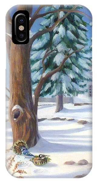 Winter Day IPhone Case