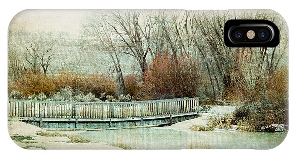 IPhone Case featuring the photograph Winter Days by Fran Riley