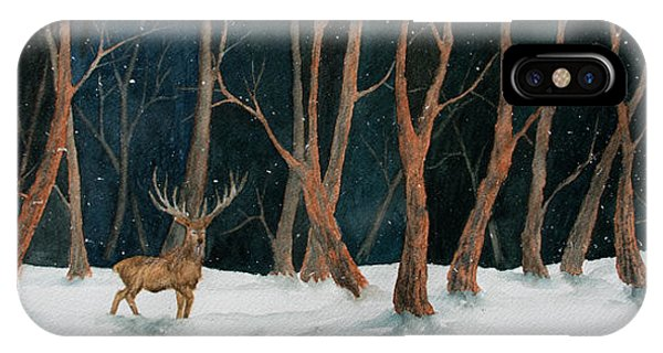 Winter Deer IPhone Case