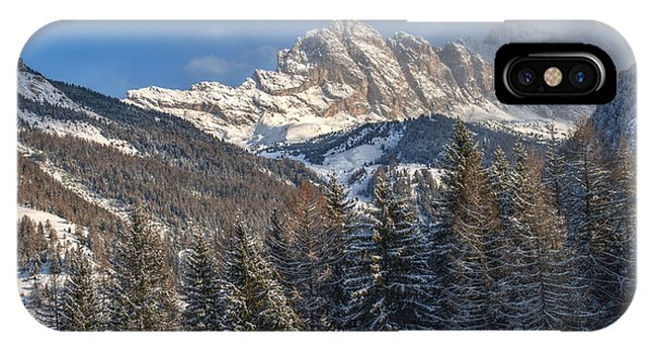 Winter Dolomites IPhone Case