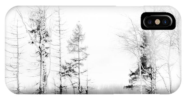Winter Drawing IPhone Case