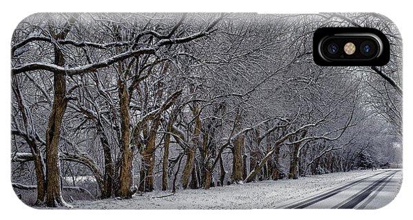 Winter Drive IPhone Case
