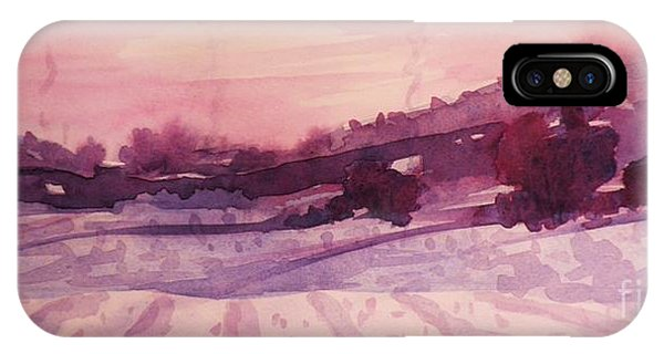 Winter Evening IPhone Case