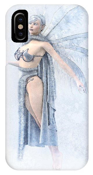Winter Fairy IPhone Case