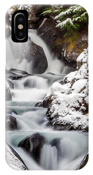 Winter Falls 1 IPhone Case