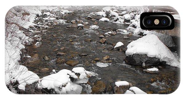 Winter Flow IPhone Case