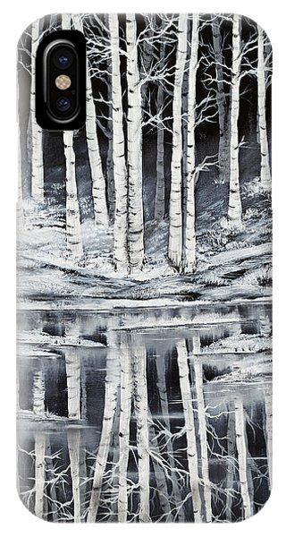 Winter Forest Phone Case by Premierlight Images