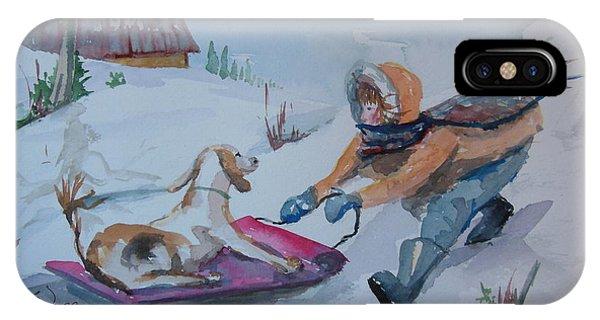 Winter Friends IPhone Case