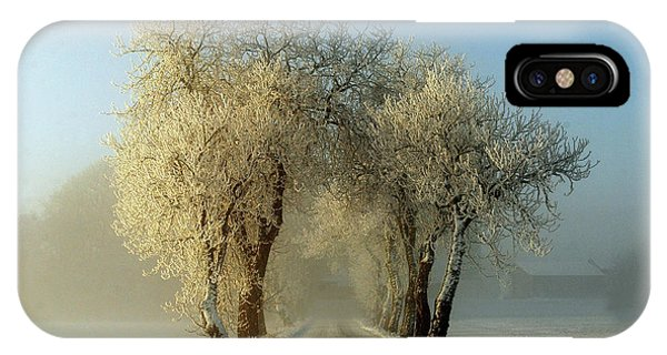 Winter iPhone Case - Winter  Gateway by Leif Westling