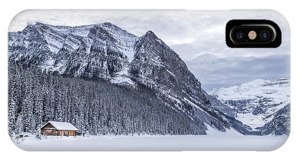 Banff iPhone Case - Winter Getaway by Evelina Kremsdorf