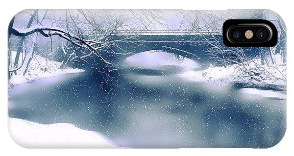 Winter Haiku IPhone Case