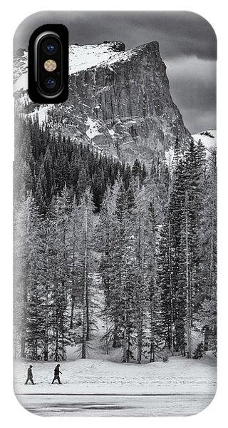 Winter Hike IPhone Case