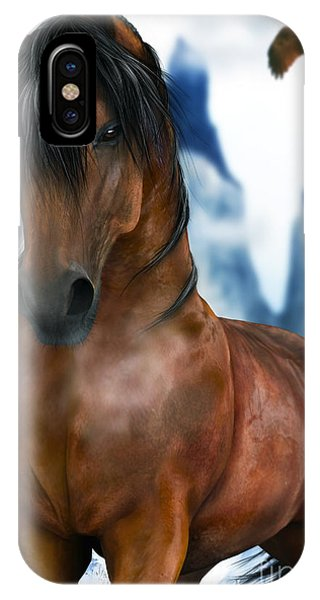 Winter Horse IPhone Case