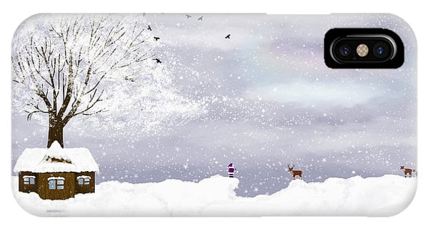 Winter Illustration IPhone Case