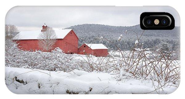 Winter In Connecticut IPhone Case