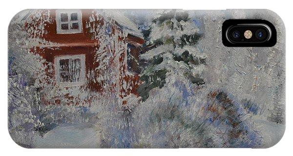 Winter In Finland IPhone Case