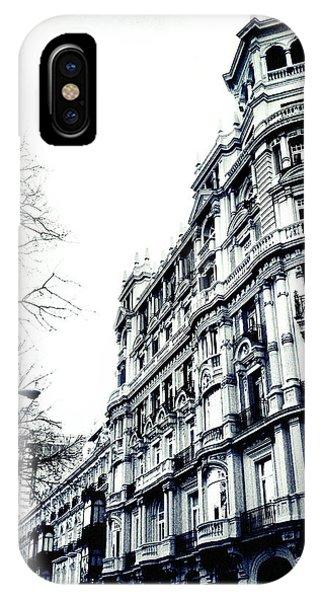 Winter In Madrid IPhone Case