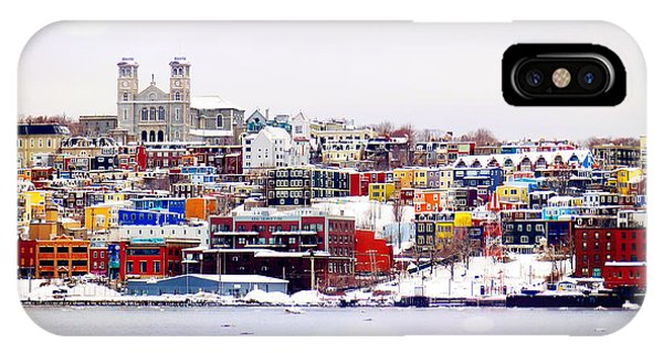 Winter In St. John's IPhone Case