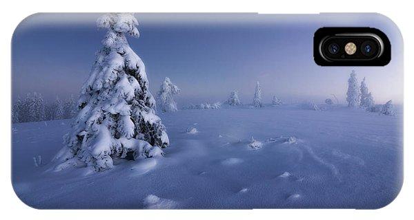 Winter iPhone Case - Winter Is Back by Fabian M?ller