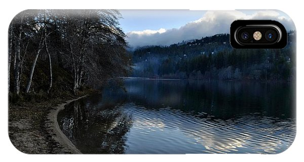 Winter Lake IPhone Case