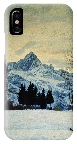 20th iPhone Case - Winter Landscape by Matteo Olivero