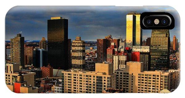 Winter Light In New York IPhone Case