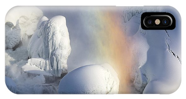 Amazing iPhone Case - Winter Magic In Niagara by Magda  Bognar
