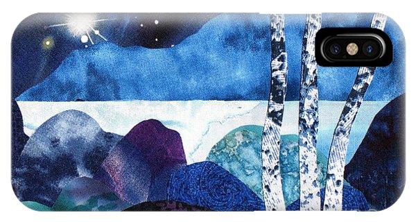 Winter Moon 2 IPhone Case