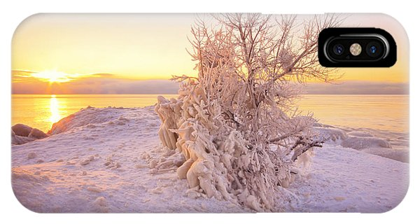 Winter Sunrise Phone Case by Charline Xia