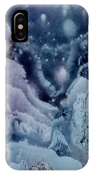 Winter Night IPhone Case