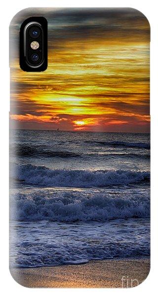 Winter North Carolina Sunrise IPhone Case