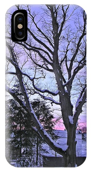 Winter Oak 2 IPhone Case