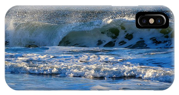 Winter Ocean At Nauset Light Beach IPhone Case