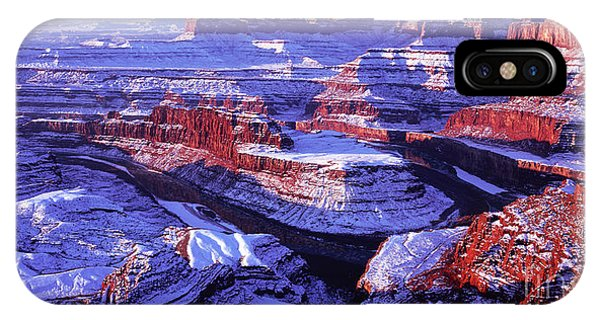 Winter Of Dead Horse Point IPhone Case