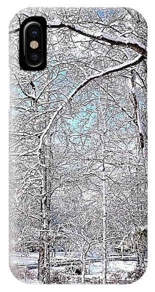 Winter On A Spring Day IPhone Case