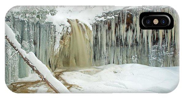 Winter On Carpenter Creek IPhone Case
