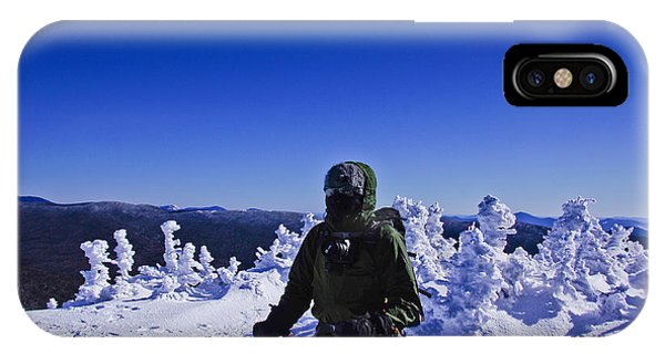 Winter On Mt Jackson IPhone Case