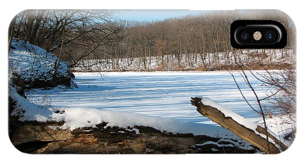 Winter On Sauk Lake 2 IPhone Case