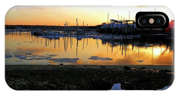 Winter On Sesuit Harbor IPhone Case
