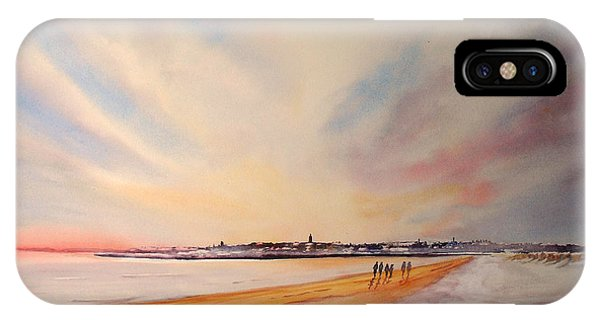 Winter On St Andrews Scotland IPhone Case