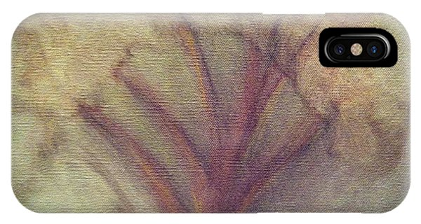 IPhone Case featuring the painting Winter Passage by Marian Palucci-Lonzetta