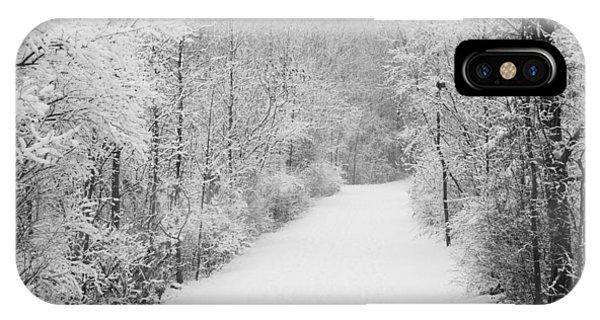 Winter Pathway IPhone Case